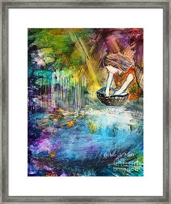 Finding Moses Framed Print