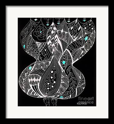 Inner World Drawings Framed Prints