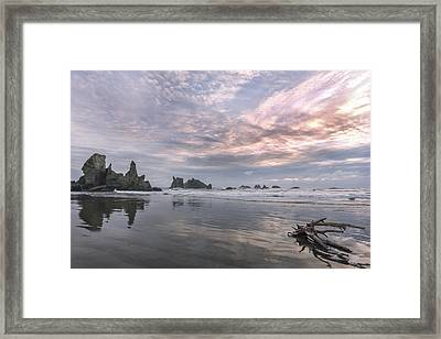 Finding Reflections Framed Print