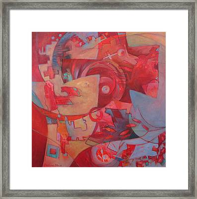 Finding The Key Framed Print by Susanne Clark