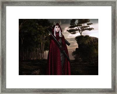 Finding The Path Framed Print