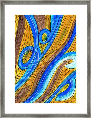 Finding The Way Framed Print by Carla Sa Fernandes
