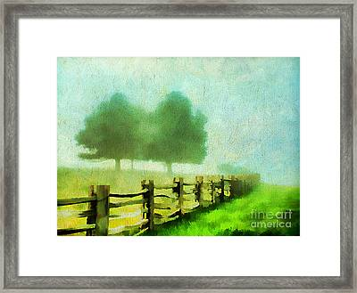 Finding Your Way Framed Print