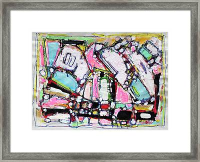 Finding Yourself In Yourself Framed Print by Hari Thomas