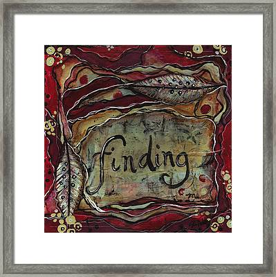 Finding...me Framed Print by Shawn Petite