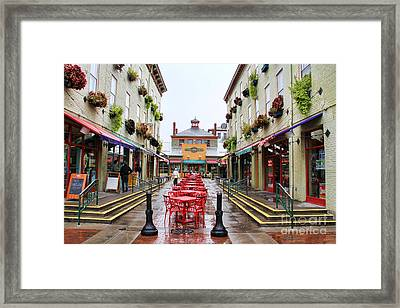 Findlay Market In Cincinnati 0003 Framed Print