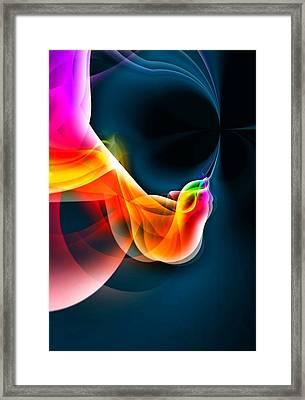 Fine Art 2 By Nico Bielow Framed Print