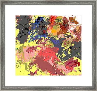 Fine Art Digital Palette 0848b Framed Print