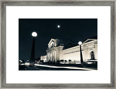 Fine Arts Drive Framed Print