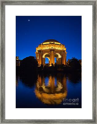 Fine Arts Palace Framed Print by Inge Johnsson