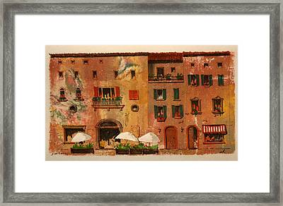 Framed Print featuring the drawing Fine Dining by William Renzulli