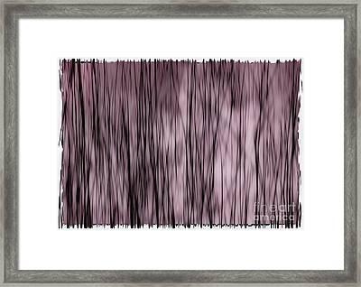 Fine Lines Framed Print by Andrea Kollo