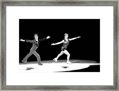 Fine Pair Framed Print by Mike Flynn