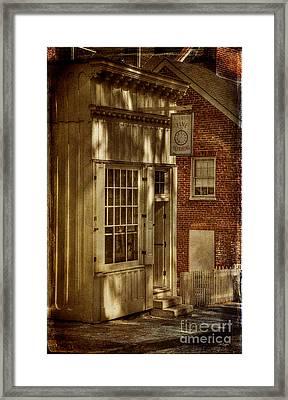 Fine Repairs Framed Print by Lois Bryan