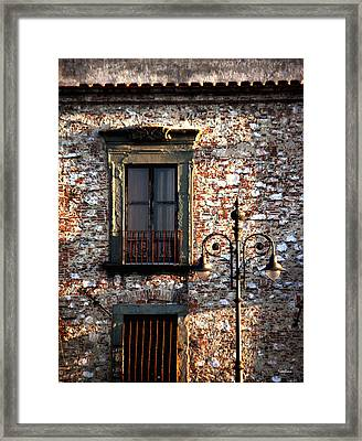 Finestra Framed Print by Ivete Basso Photography