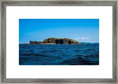 Fingal's Cave Framed Print