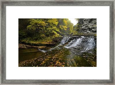 Finger Lakes Hollow  Framed Print