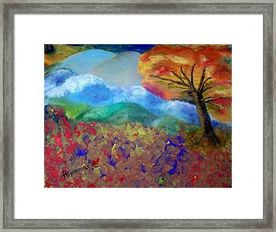Fingerpainting Framed Print