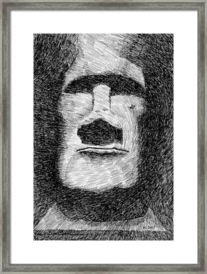 Fingerprint - Paques Framed Print by Nicolas Jolly
