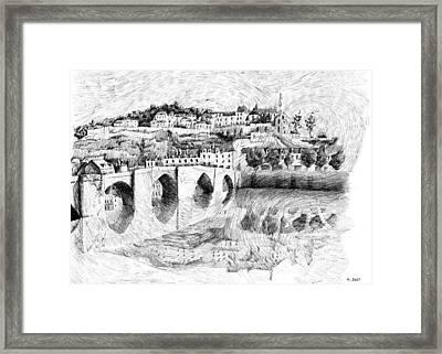 Fingerprint - Terrasson Framed Print by Nicolas Jolly