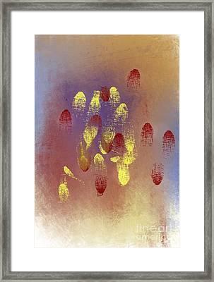 Fingerprints Framed Print