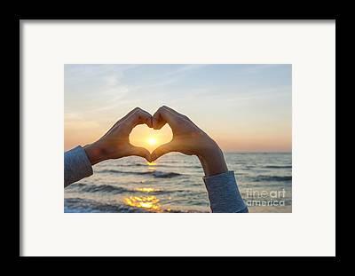 Love Making Framed Prints