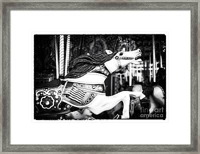 Finish Line II Framed Print by John Rizzuto
