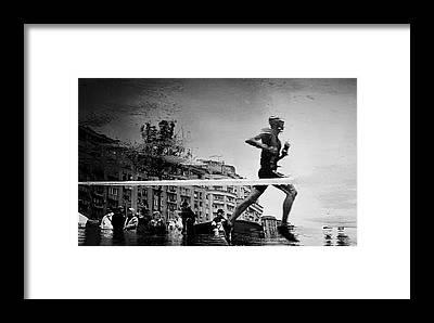 Running Water Framed Prints