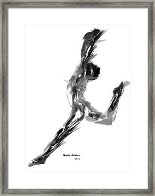 Finish Line Framed Print