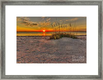 Finishing Moments Framed Print by Marvin Spates