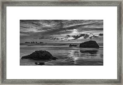 Finishing The Day II Framed Print