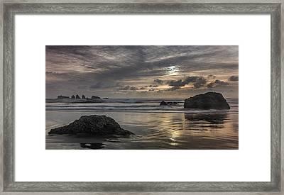 Finishing The Day Framed Print by Jon Glaser