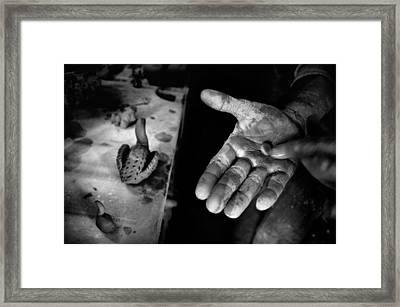 Finishing Touches Framed Print by Ilker Goksen