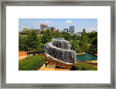 Finlay Park Columbia South Carolina Framed Print