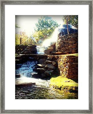 Finlay Park Fountain Framed Print