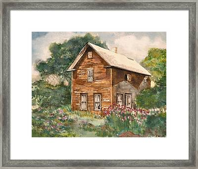 Finlayson Old House Framed Print