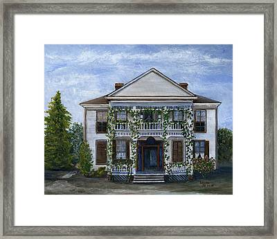 Finn Hotel Pleasant Hill Louisiana Framed Print
