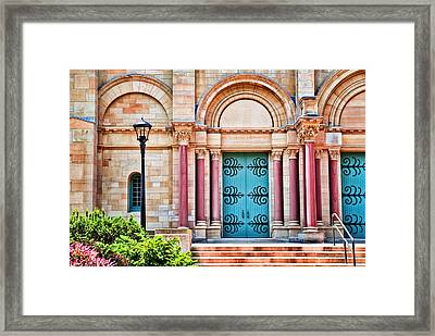 Finney Chapel Oberlin College Framed Print by Mary Timman