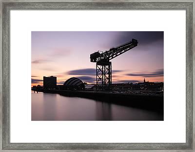 Finnieston Crane Glasgow  Framed Print