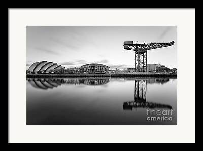 Glasgow Scene Framed Prints