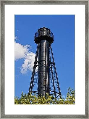 Finns Point Lighthouse Framed Print