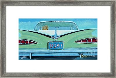 Fins Framed Print by Anthony Dunphy