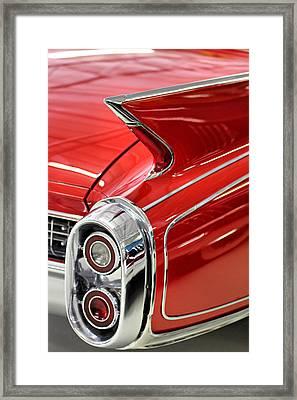 Fins Iv Framed Print