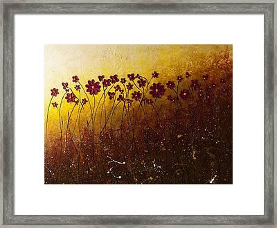 Fiori Di Campo Framed Print by Carmen Guedez