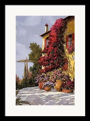 Lake Maggiore Framed Prints