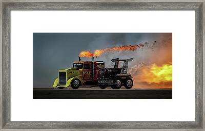 Fire & Speed - Mcas Miramar Air Show Framed Print