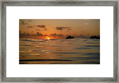 Fire 1 Framed Print by Bill Reynolds