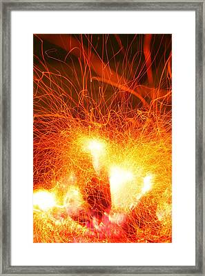 Fire-1 Framed Print