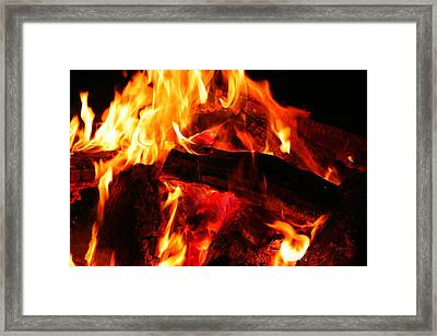 Fire-2 Framed Print
