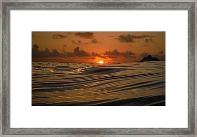 Fire 3 Framed Print by Bill Reynolds